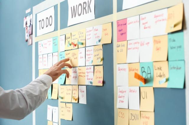 目標への行動を細分化