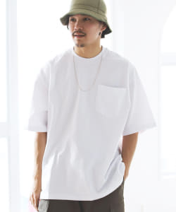HEAVYWEIGHT COLLECTIONS|Pocket Tee WHITE