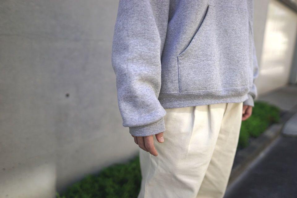 フルーツオブザルームパーカー12オンス袖感