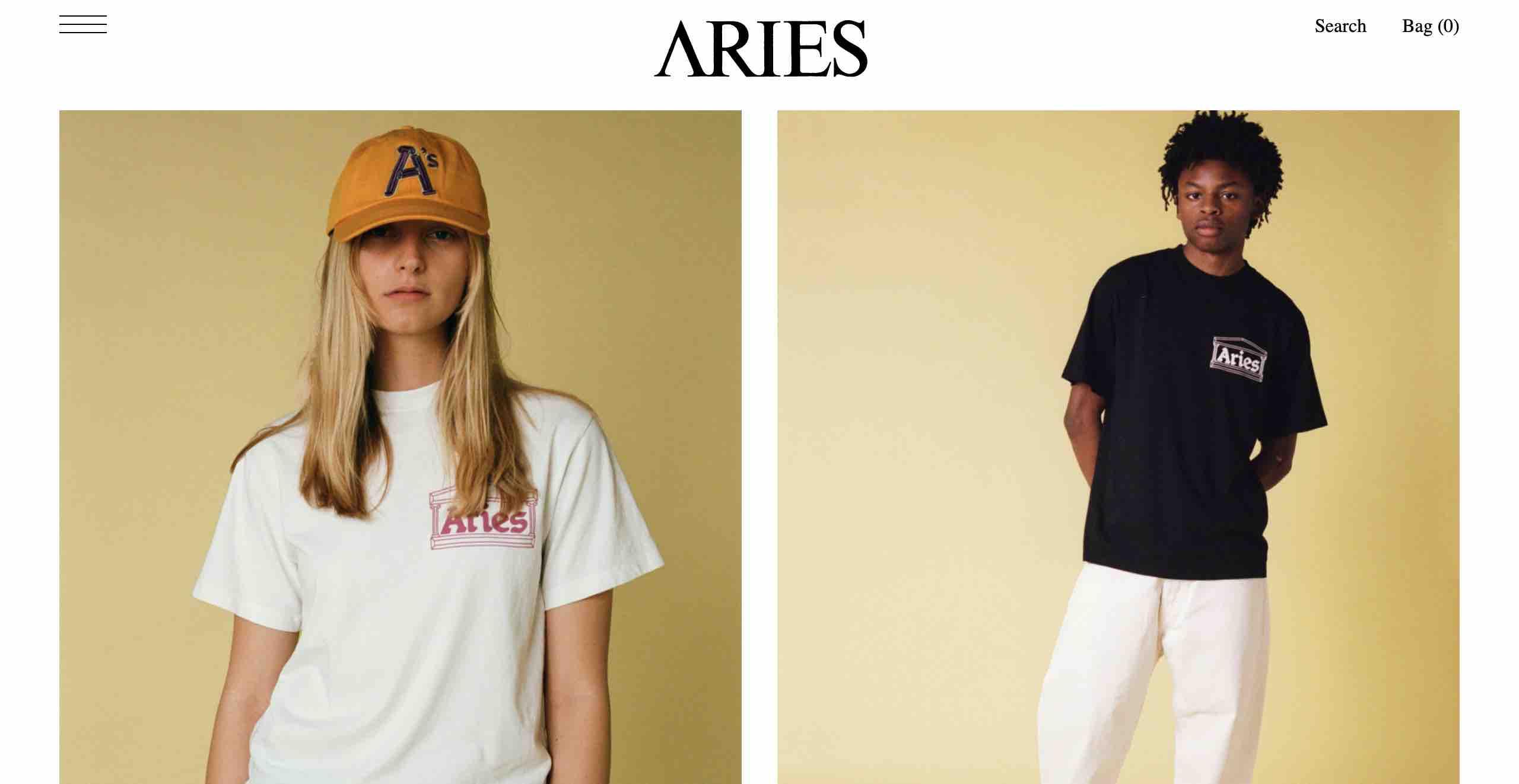 アリーズ公式サイト