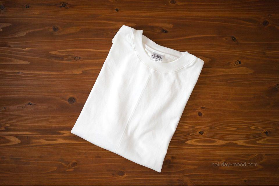 CAMBER(キャンバー)マックスウェイトTシャツ301最強の白T
