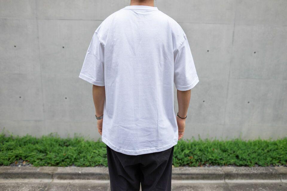 CAMBERマックスウェイトTシャツ301着用画像