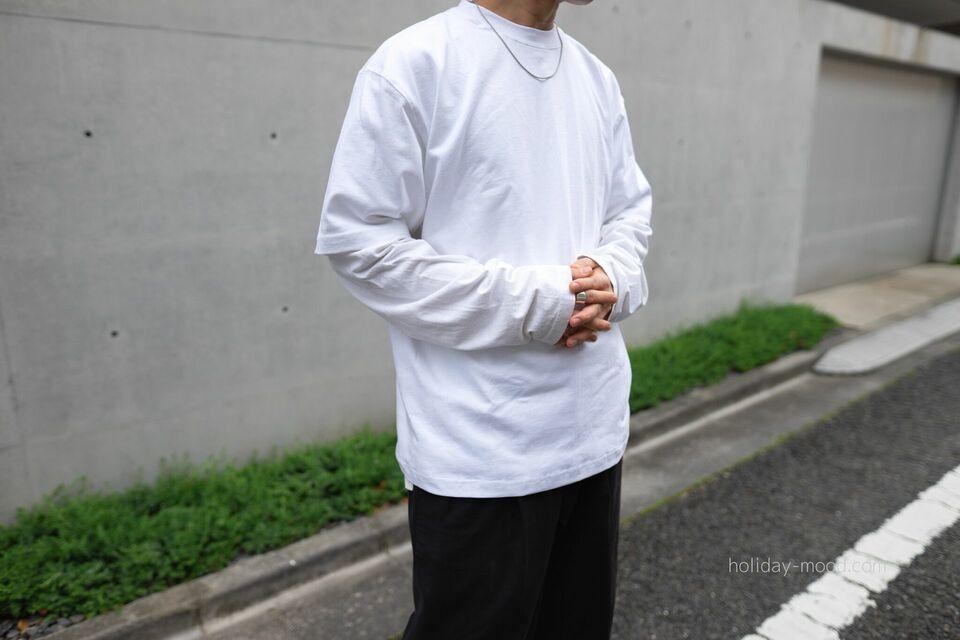 CAMBERマックスウェイトTシャツ301ロンTレイヤード
