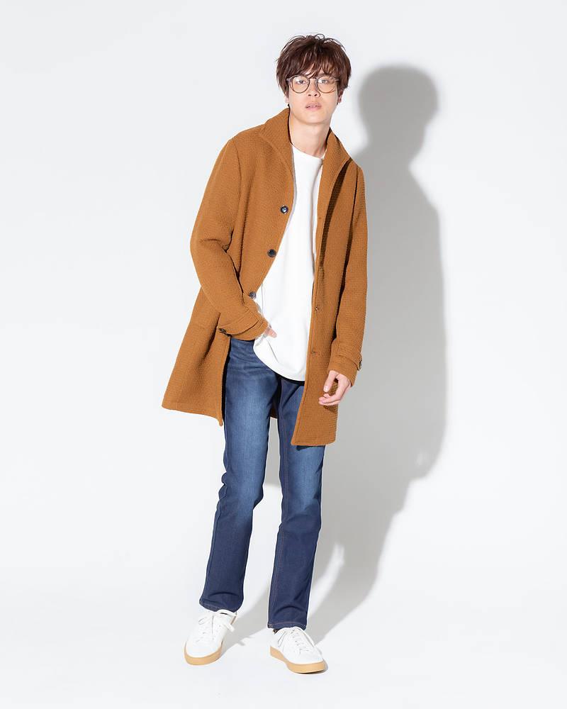 メンズファッションプラス冬コーデ