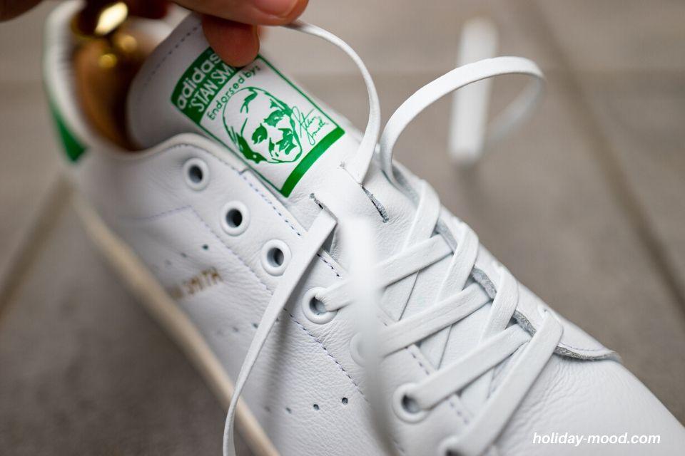 スタンスミス靴紐KICKS ROCK